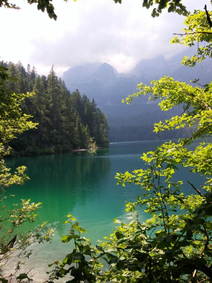 Lago di Tovel, אגם טובל בדרום הדולומיטים