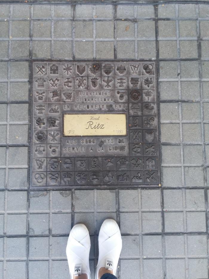 סופשבוע בברצלונה רונית כפיר, מלון הריץ