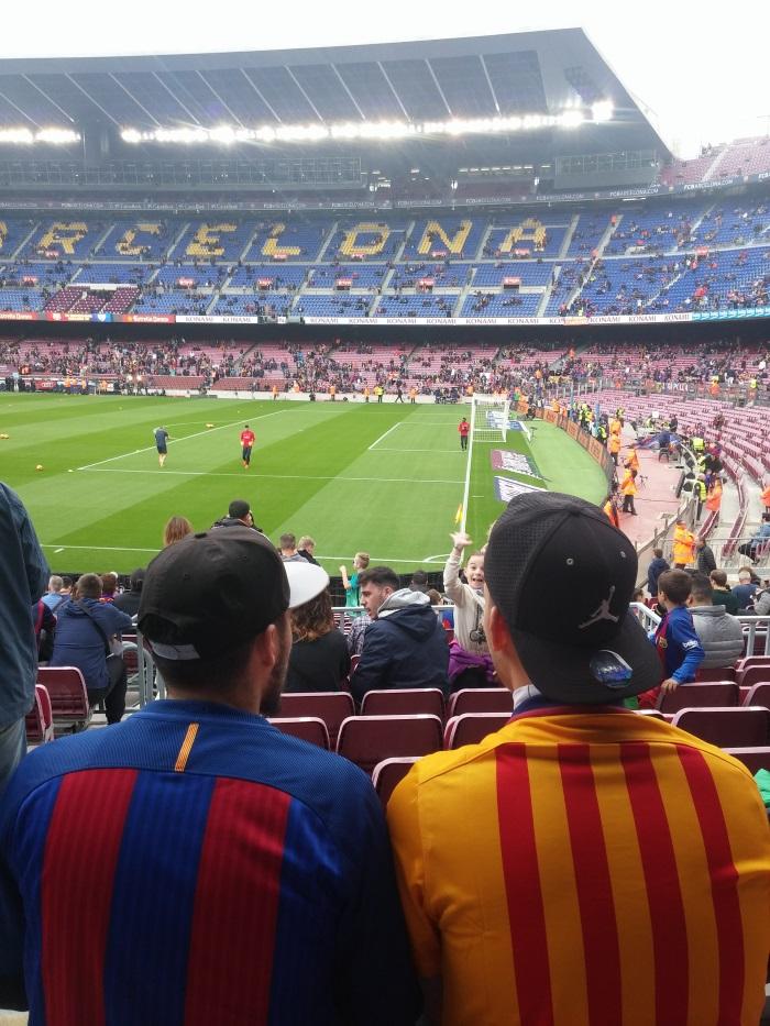 סופשבוע בברצלונה בלוג רונית כפיר. משחק של בארסה Camp Nou