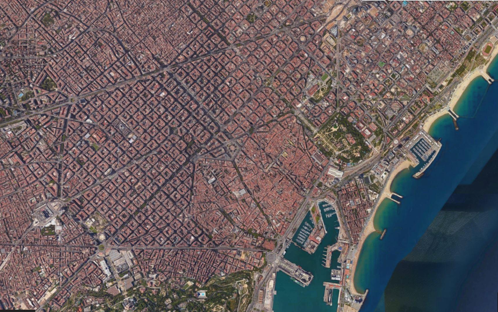 barcelona תכנון עירוני בברצלונה. בלוג רונית כפיר