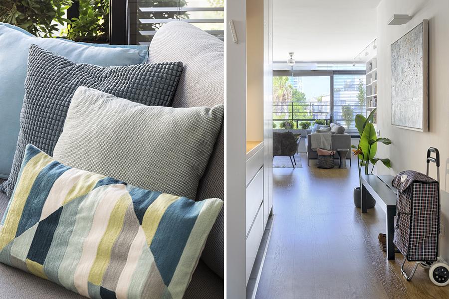 עיצוב ותכנון דירה במרכז תל אביב. רונית כפיר