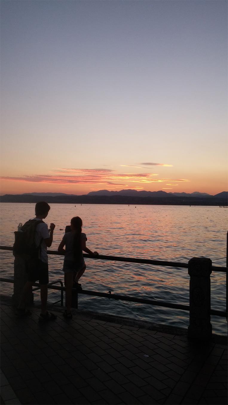 דרום אגם גארדה, טיול עם ילדים לצפון איטליה