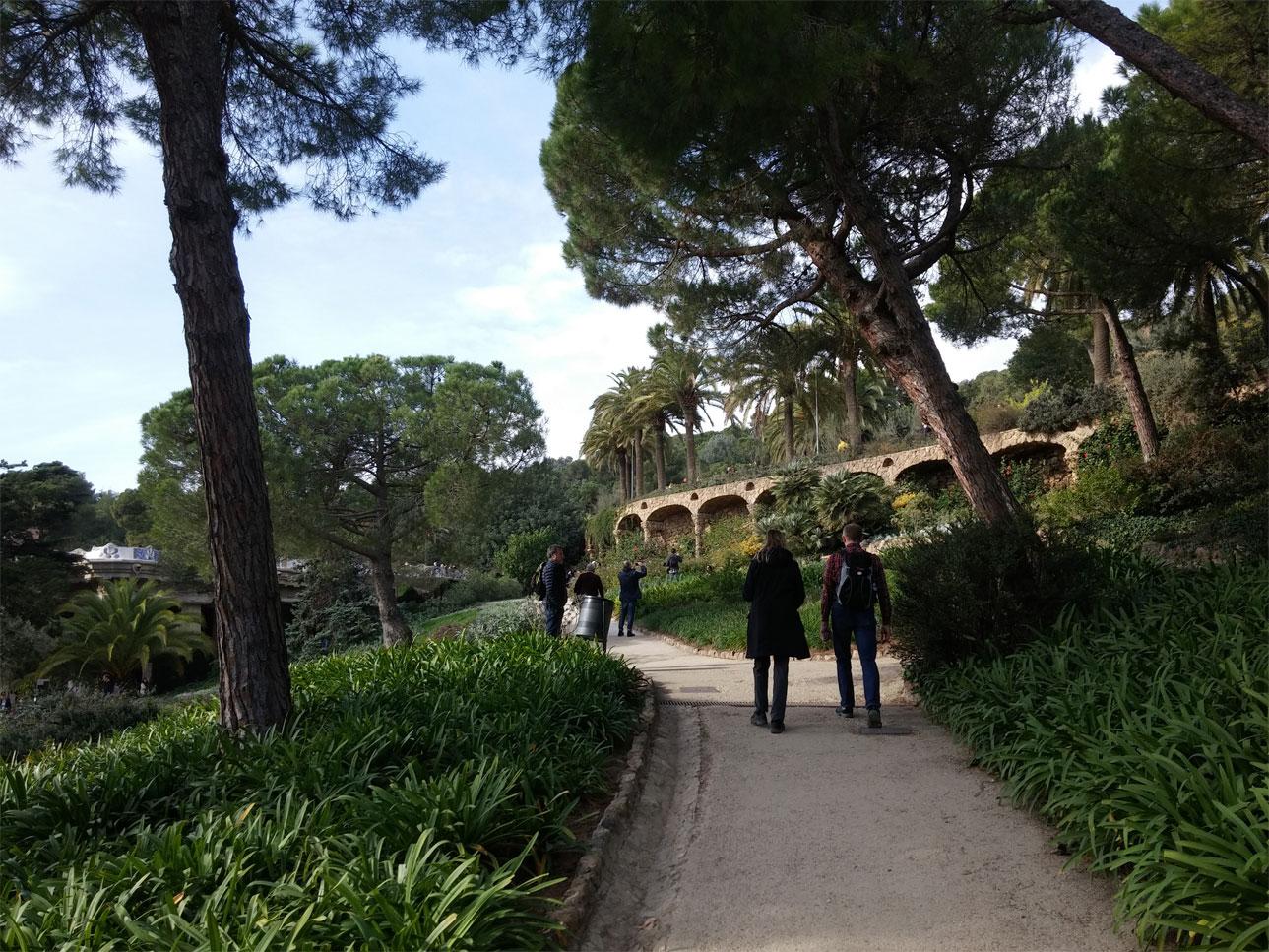 סופשבוע זוגי בברצלונה, בלוג רונית כפיר. פארק גואל