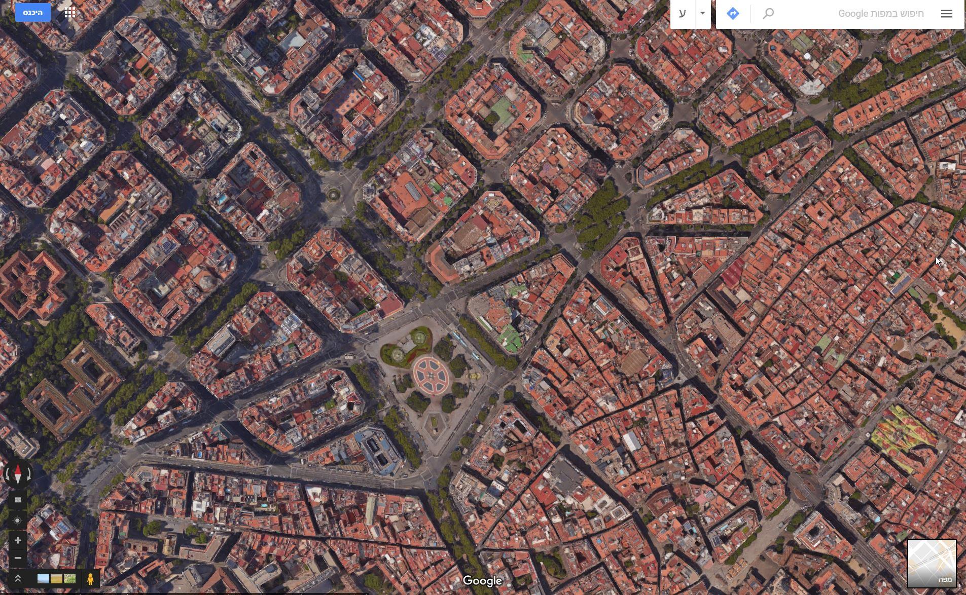 ברצלונה תכנון עירוני. בלוג רונית כפיר