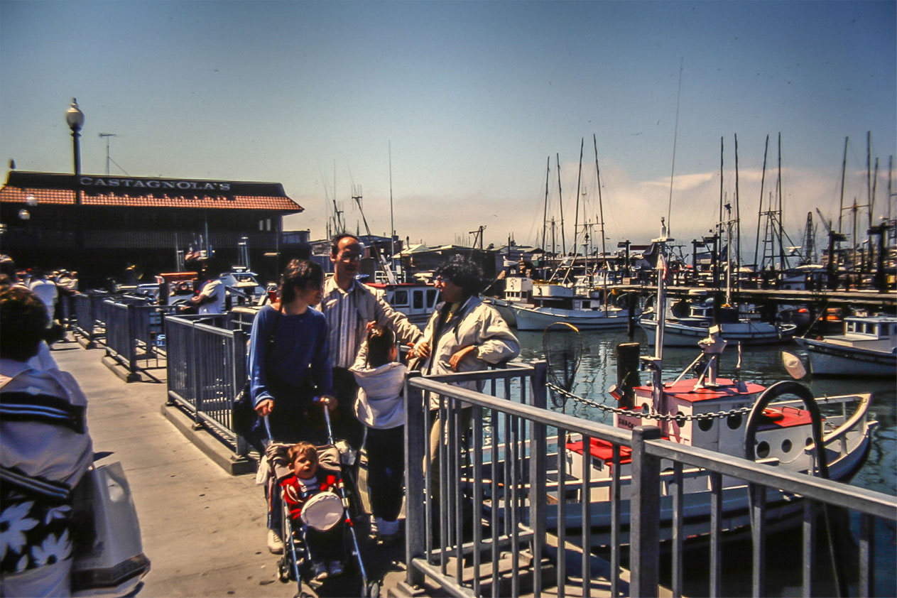 טיול קמפינג בארצות הברית. הבלוג של רונית כפיר. סן פרנסיסקו