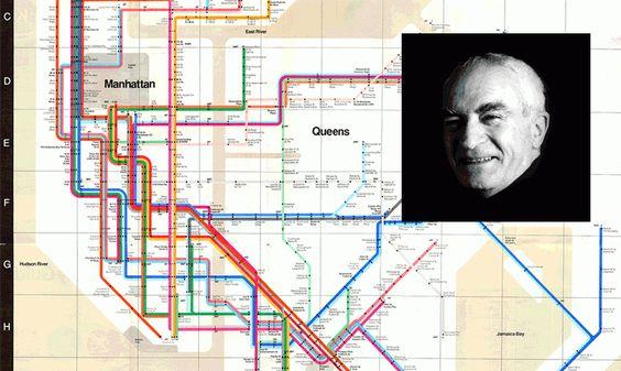 מפת האסבוויי של ניו יורק. פאולו וינלי. הבלוג של רונית כפיר