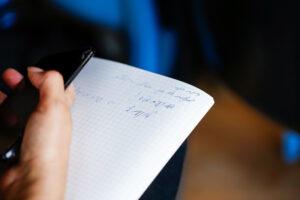 הרגלי כתיבה רונית כפיר נעים מאוד